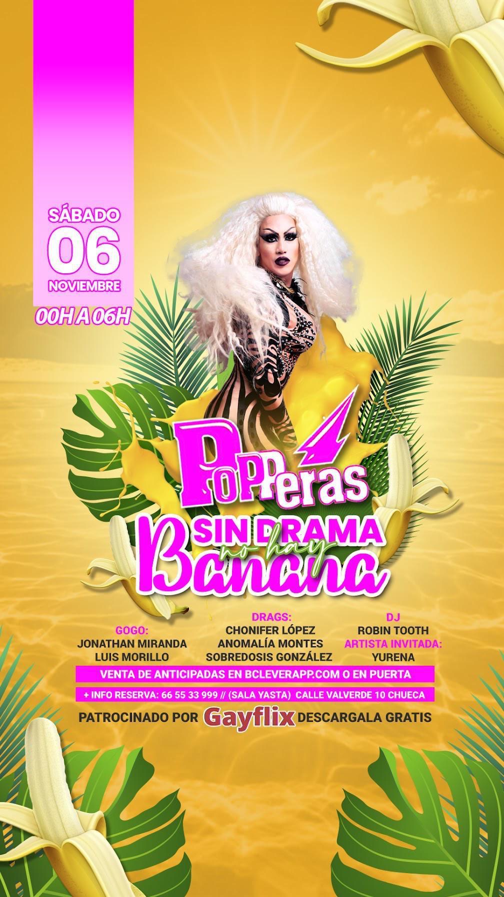 Popperas - Sin drama no hay Banana - con Yurena