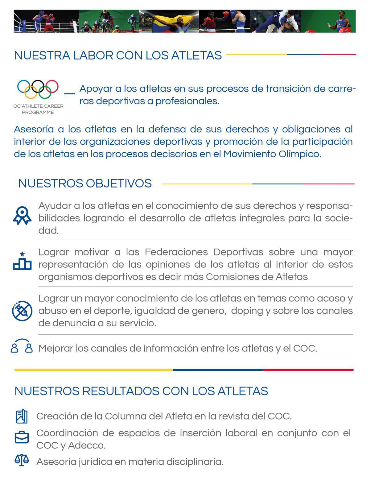 Comisión de Atletas