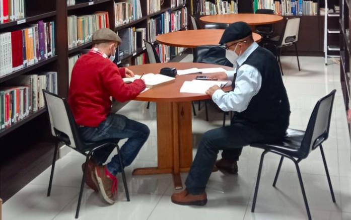 La biblioteca del Comité Olímpico Colombiano abrió nuevamente sus puertas a los visitantes
