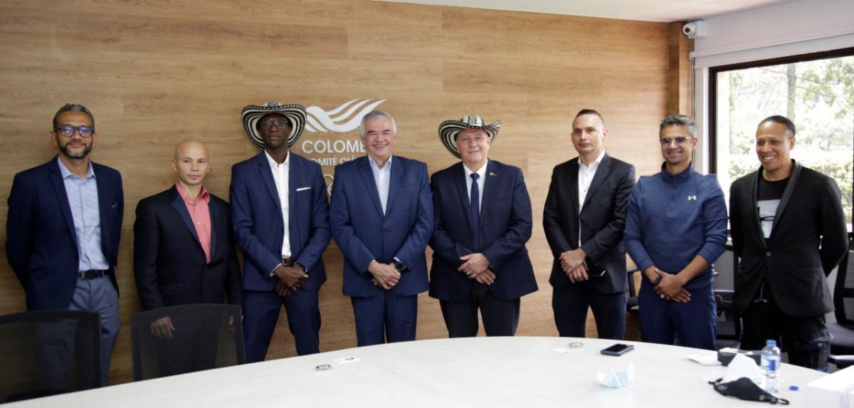 Presidente de la Federación Internacional de Savate visitó el Olímpico Col