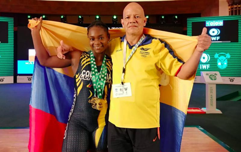Con 14 medallas Colombia cerró su participación en el Mundial Junior de Levantamiento de Pesas