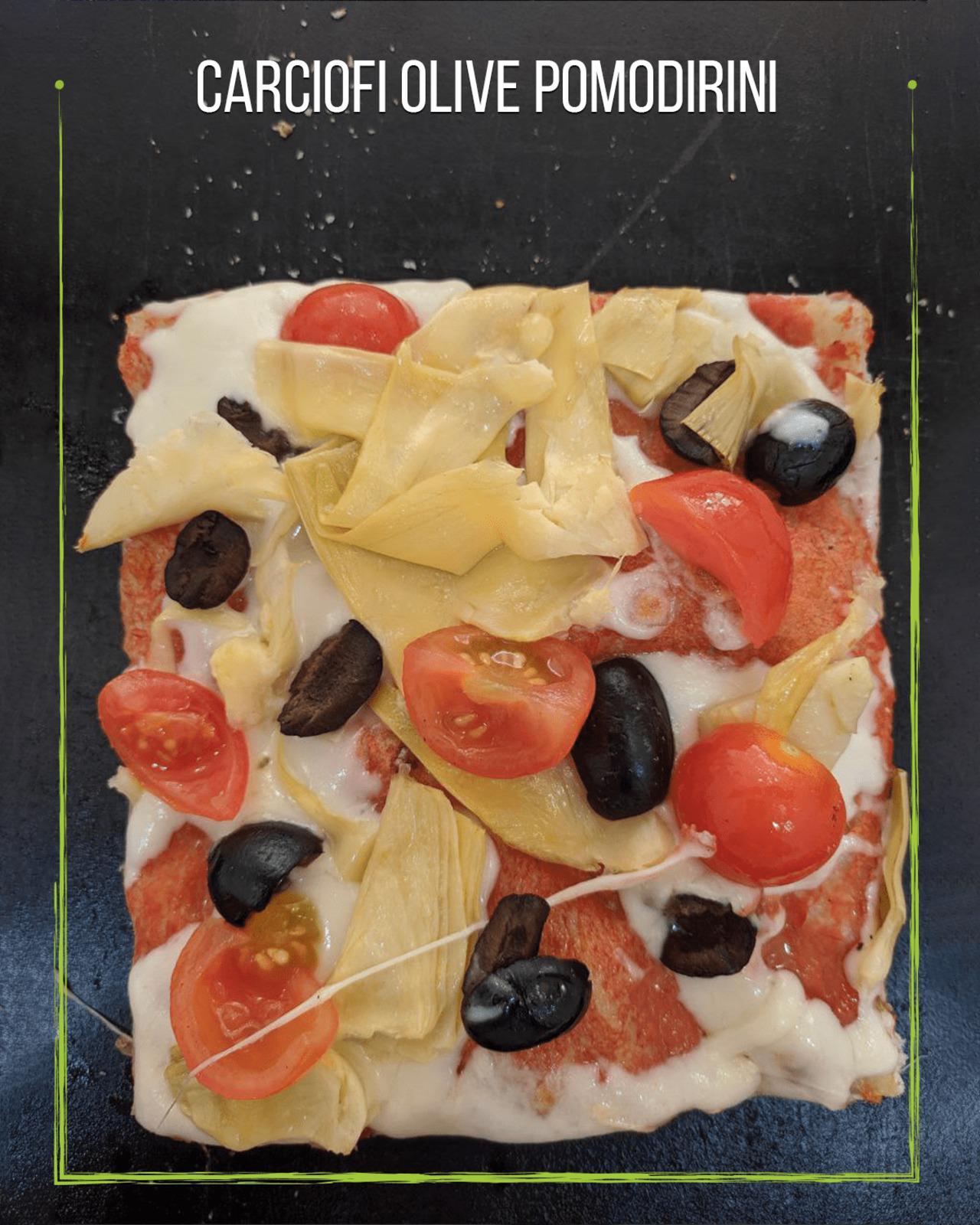 Carciofi olive pomodirini