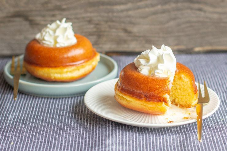 Chantilly Rum Baba
