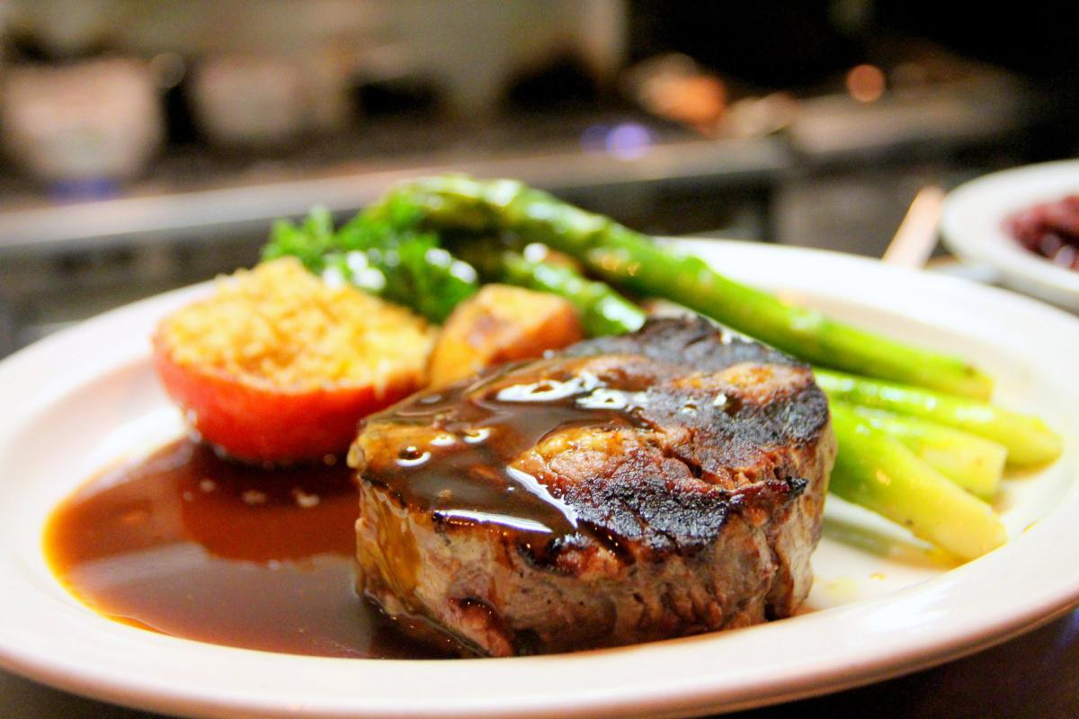 Grilled Beef Tab Tavern Sauce