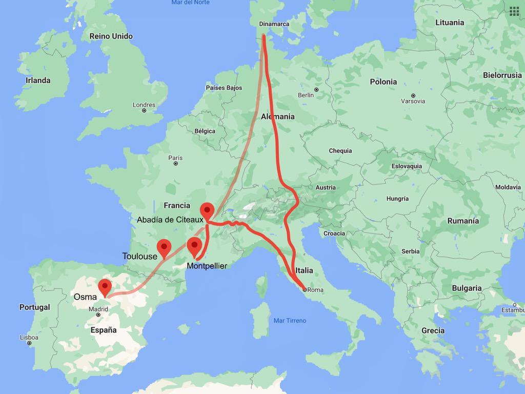 Para saber más: El viaje por Europa