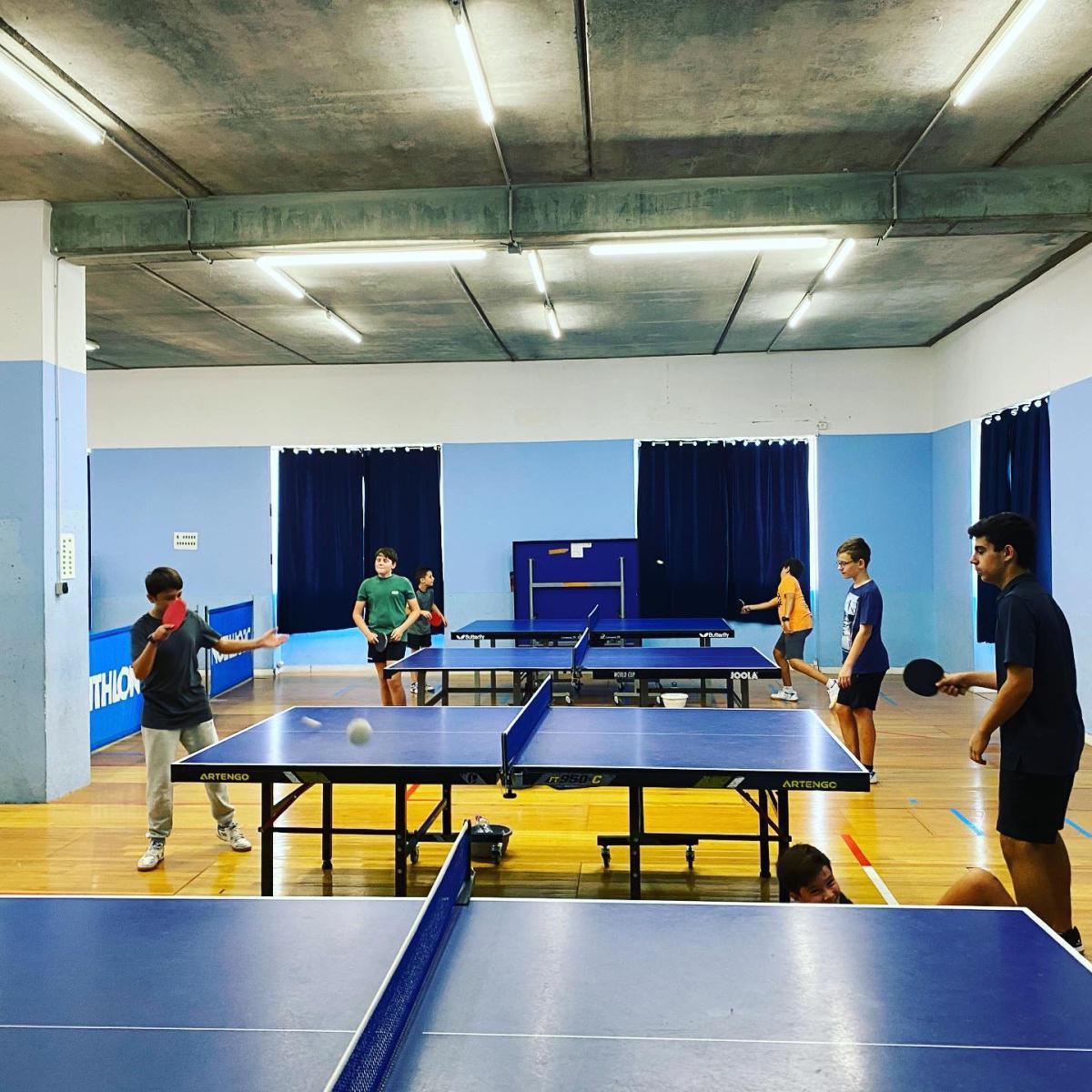 stage sportif pingpong forfait journée entre 28/06 au 02/07/21
