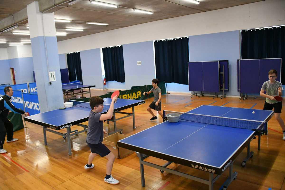 stage sportif pingpong forfait journée entre 02/08 au 06/08/21