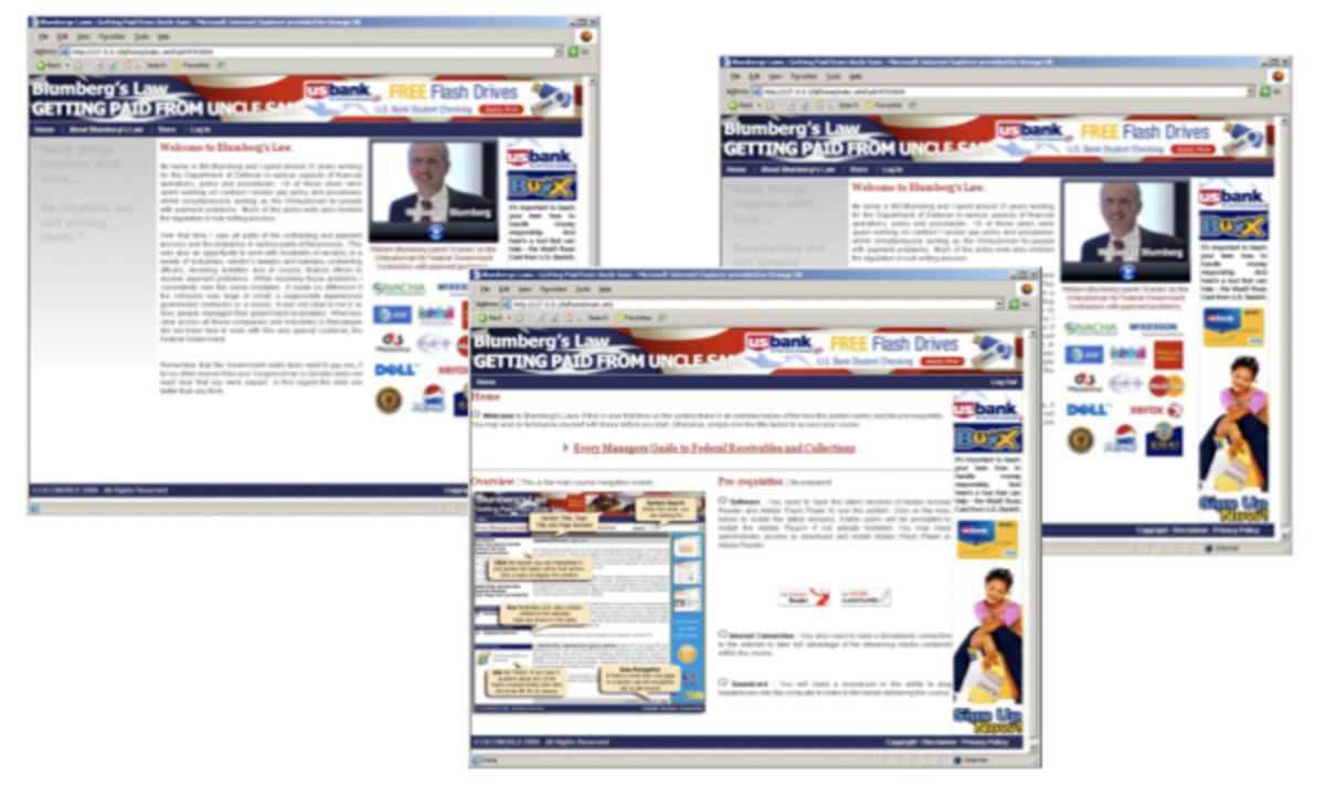 Interactive Marketing: National Australia Bank, Blumberg & Public Sentry