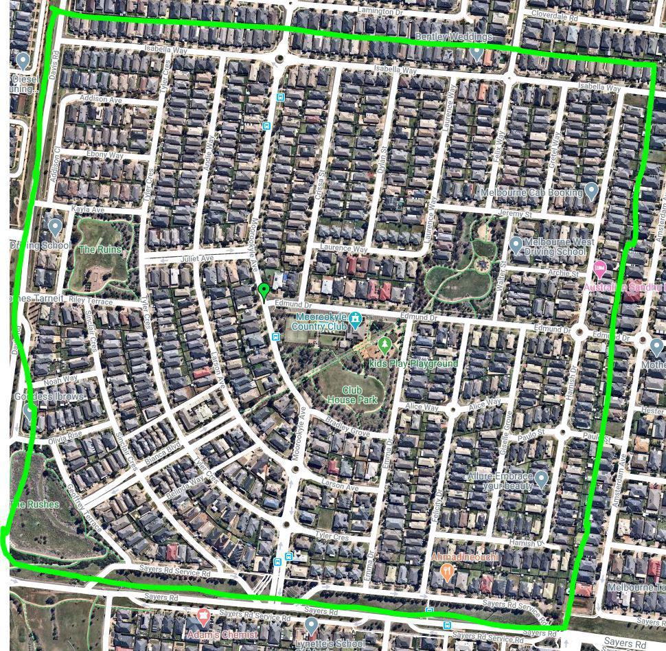 Estate boundaries