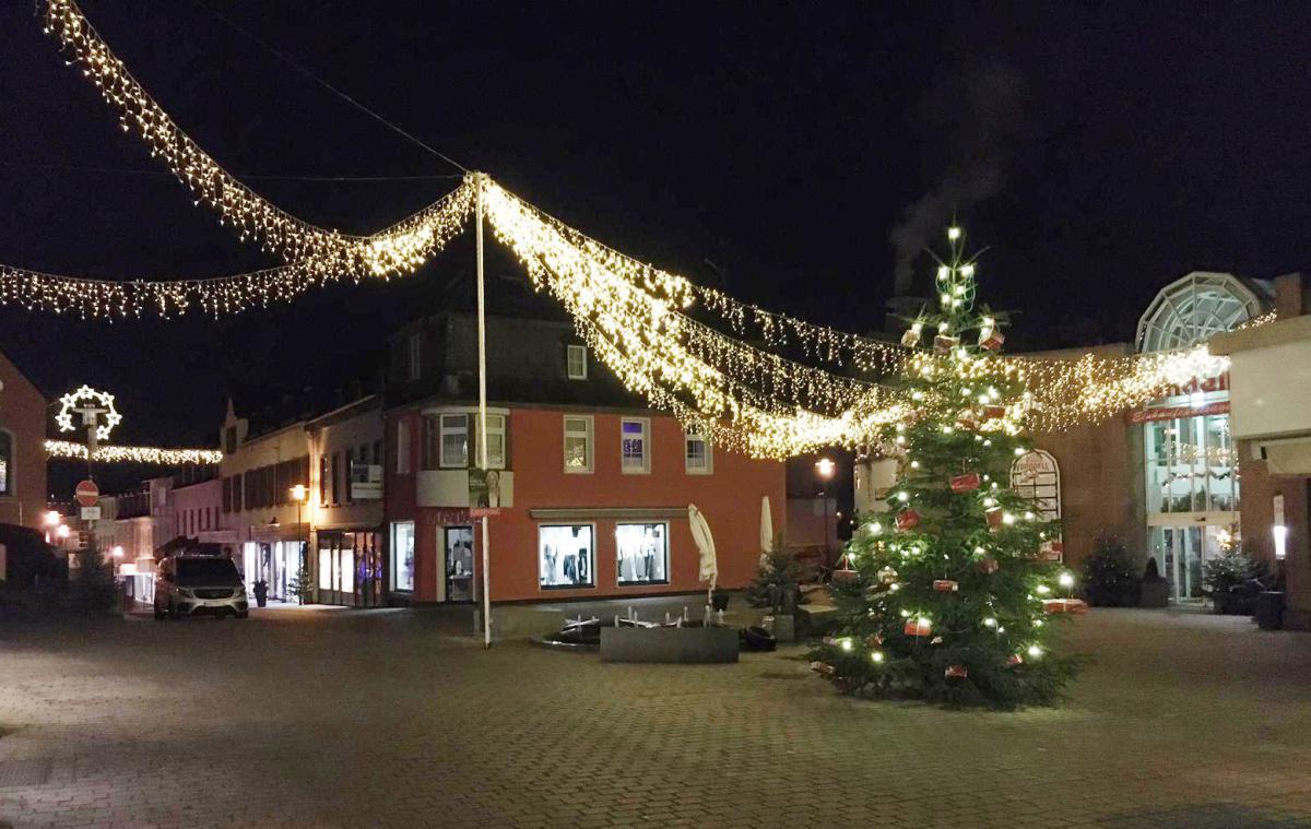 Weihnachtliche Stimmung in Gerolstein