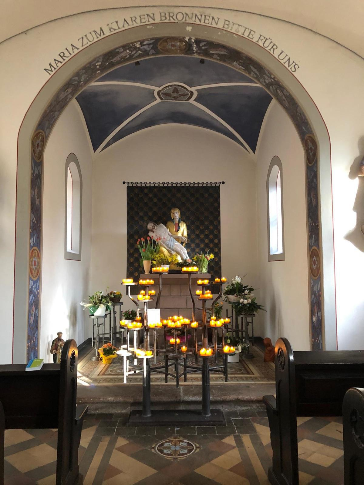 Die Büschkapelle innen