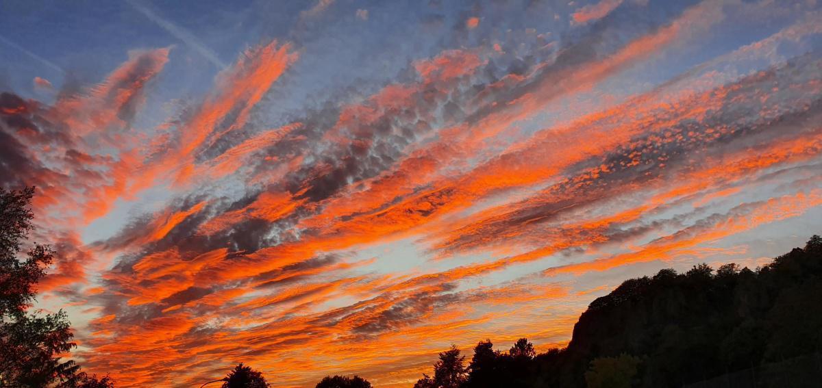 Sonnenuntergang im September
