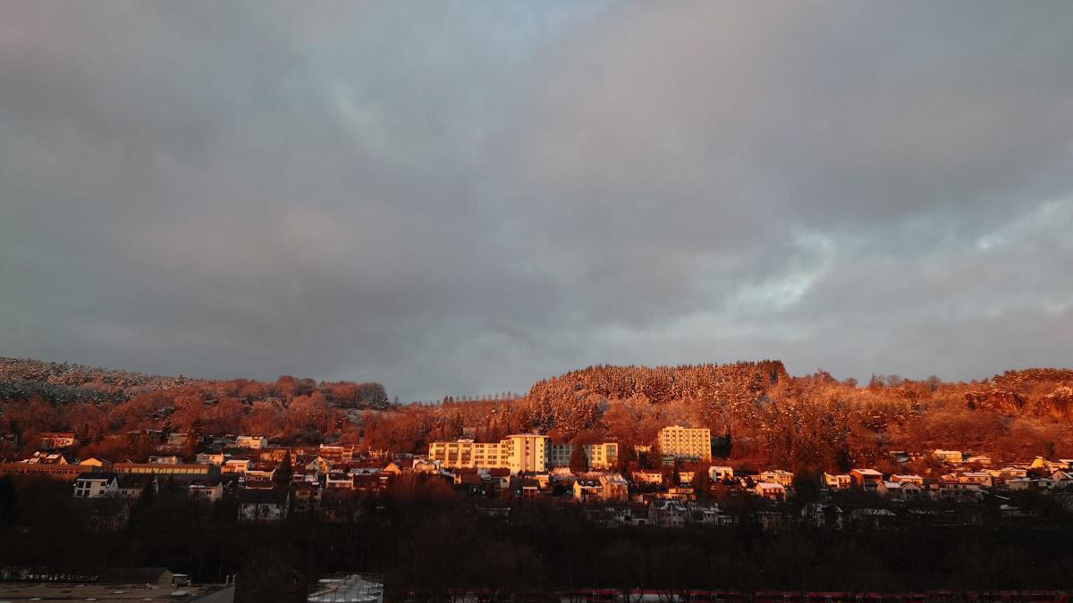 Sonnenuntergang in Gerolstein