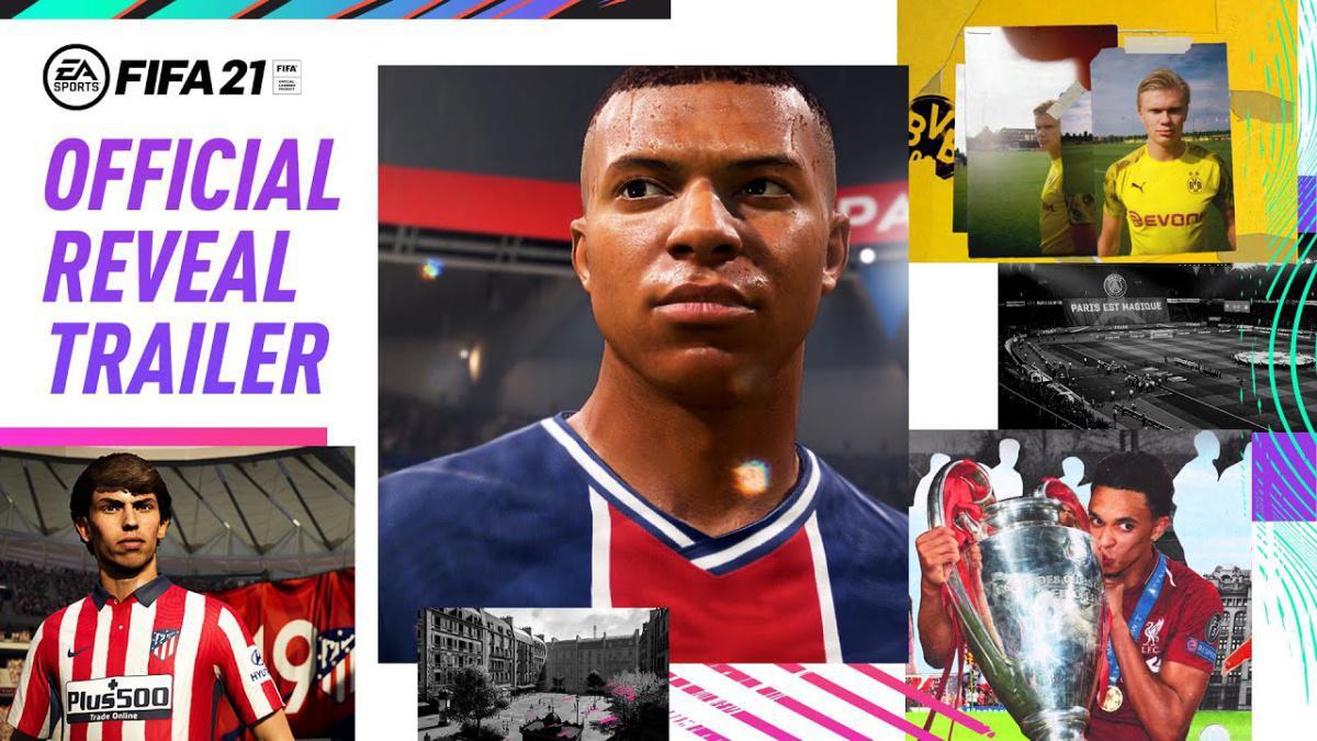 Le nouveau trailer de FIFA21 avec Kylian Mbappé !
