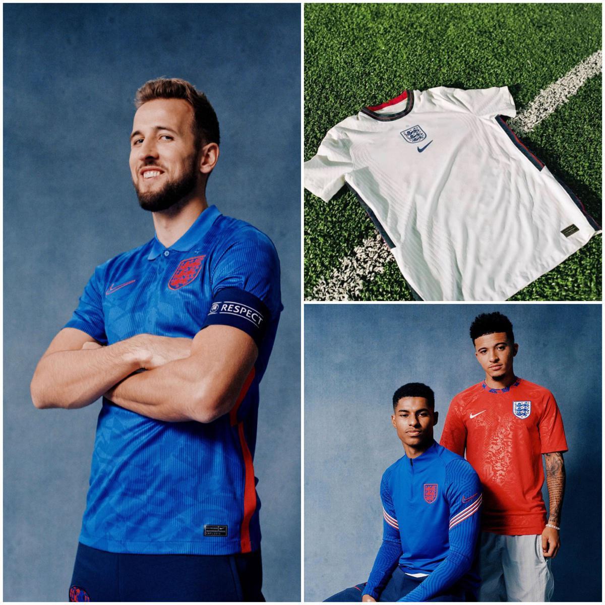 Nike révèle les maillots du Portugal, Angleterre et de la France !