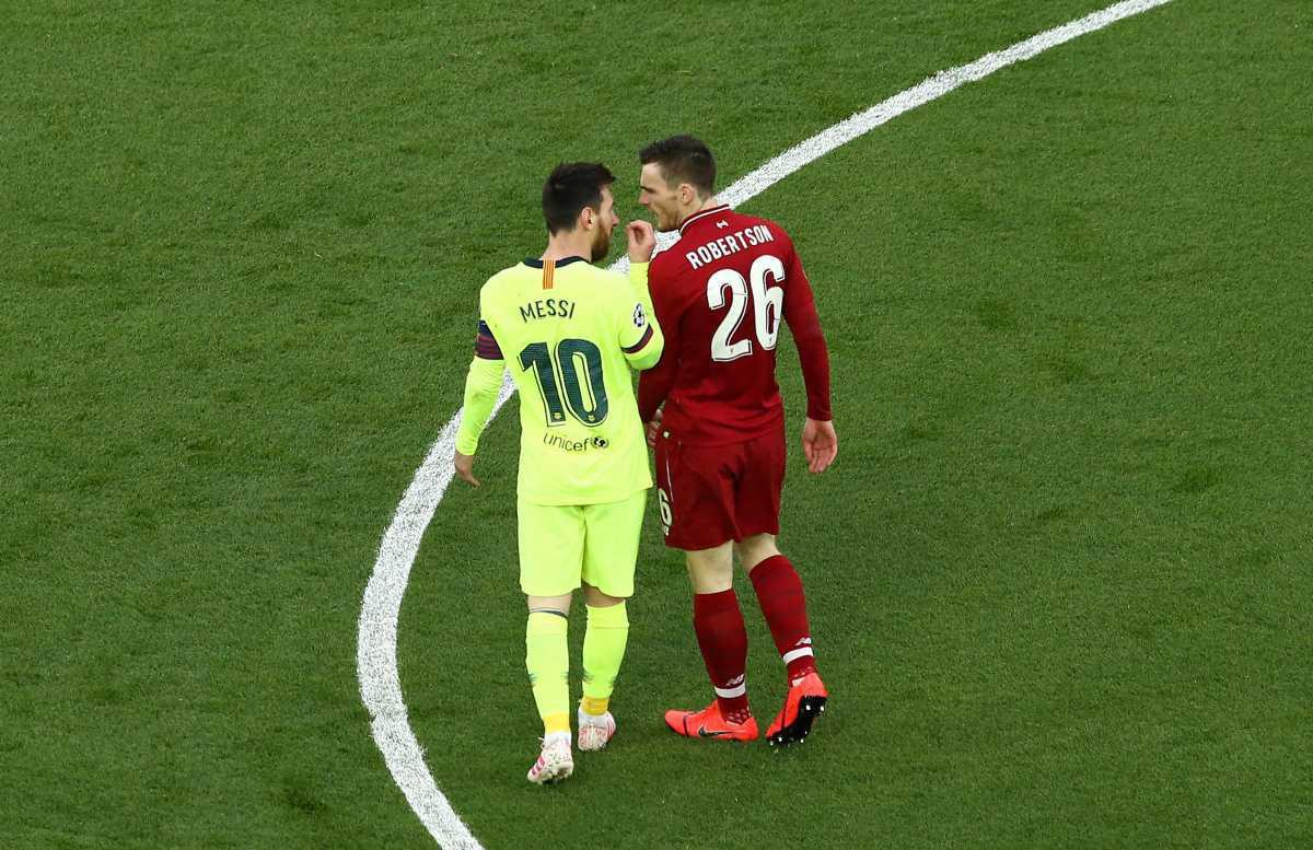 """Robertson : """"J'espère que Messi ne viendra pas en Premier League"""""""