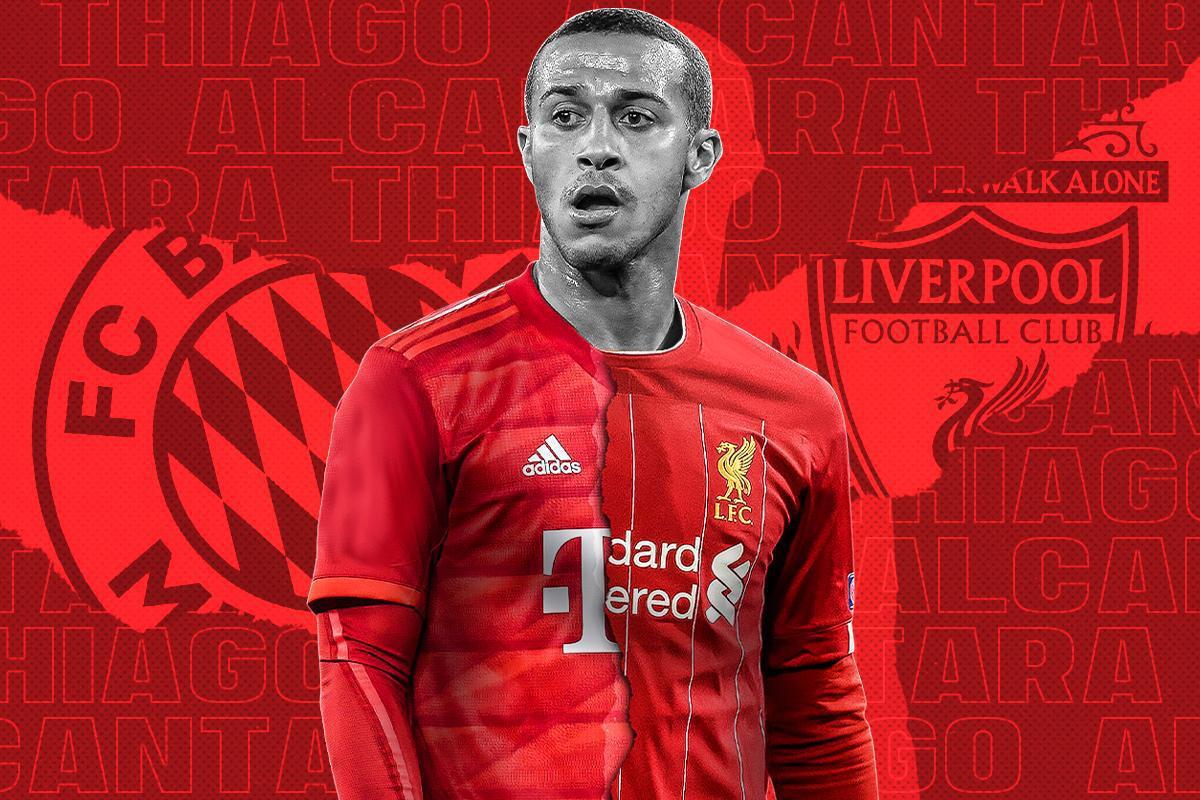 OFFICIEL - Thiago Alcantara signe à Liverpool !