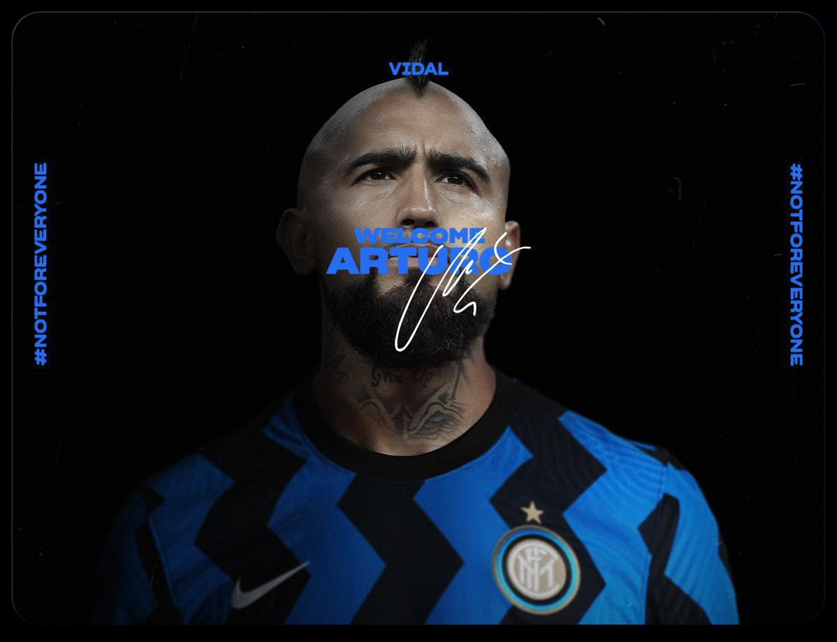 OFFICIEL - Arturo Vidal signe à l'Inter pour 1 m€ !