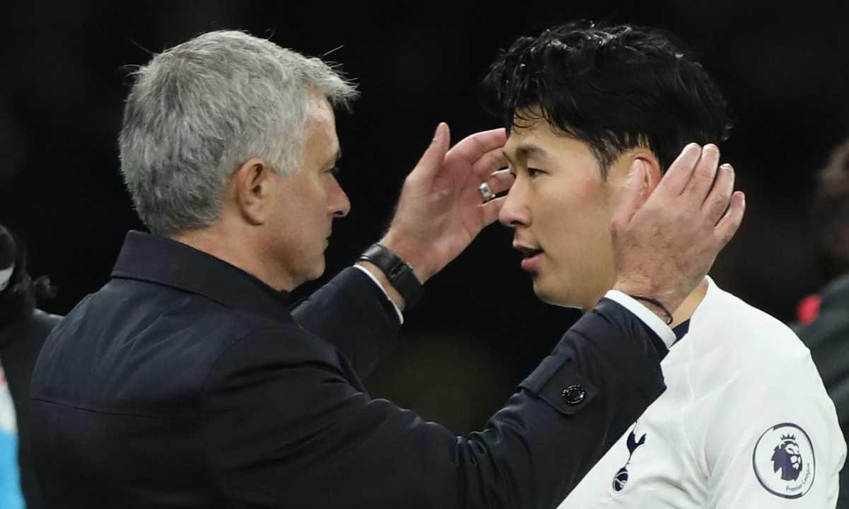 Mourinho confirme la gravité de la blessure de Son !
