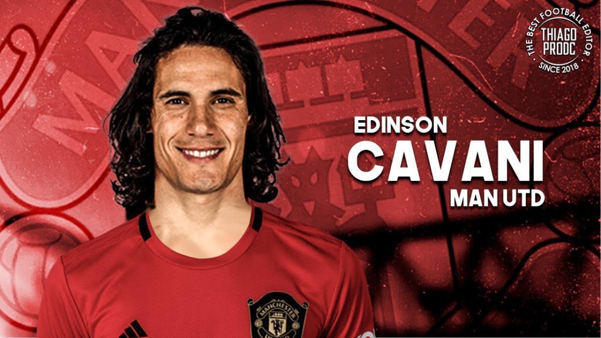 Edinson Cavani signe à Manchester United !