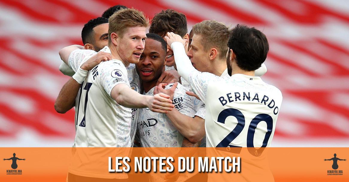Arsenal - Manchester City : Les notes de la rédaction !