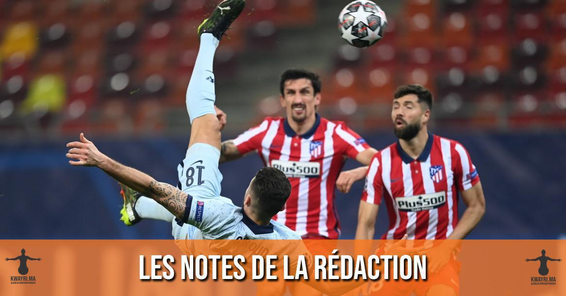 Atletico-Chelsea : Les notes de la rédaction !