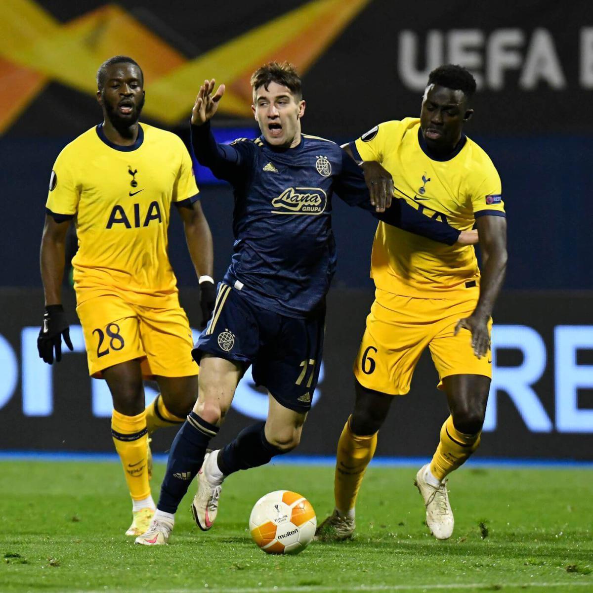 Zagreb déplume Tottenham !