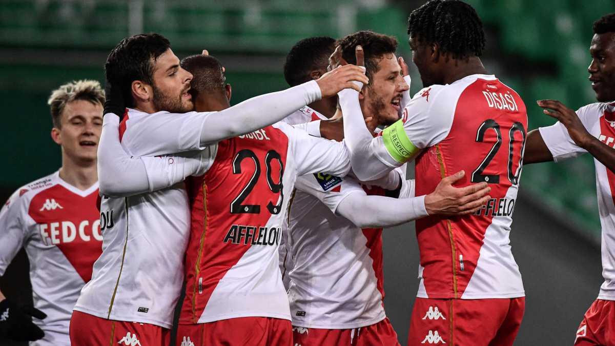 Ligue 1: L'AS Monaco se balade à Saint-Etienne
