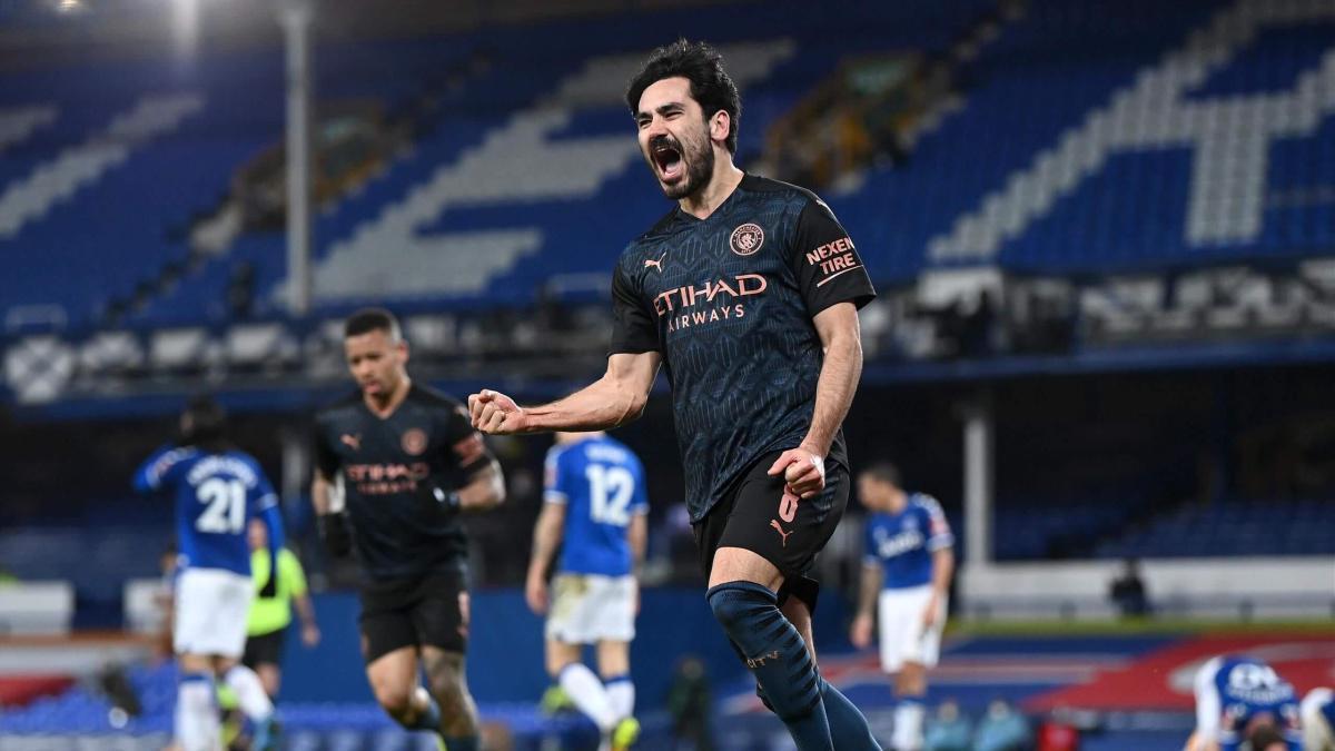 FA CUP: Manchester City vient à bout d'Everton