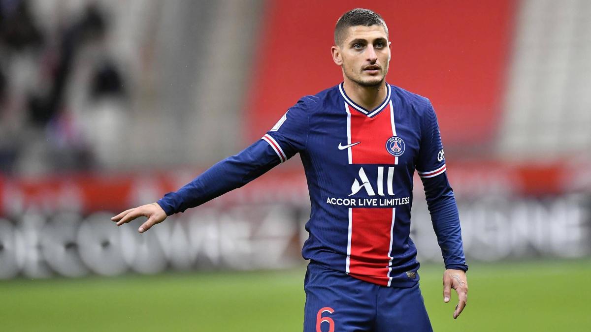 Veratti forfait contre Lille
