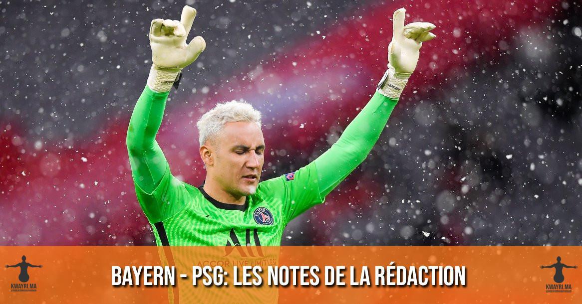 Bayern - PSG : Les notes de la rédaction !