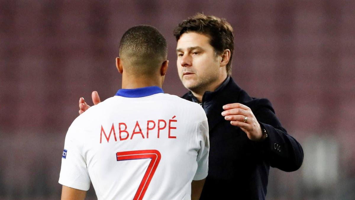 Pochettino fait l'éloge de Mbappé