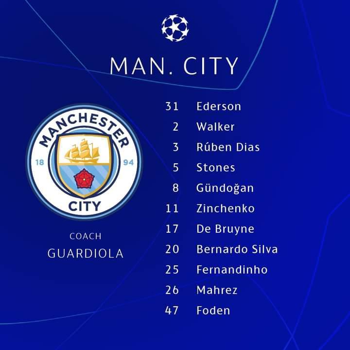 Man City - PSG : Les compositions officielles