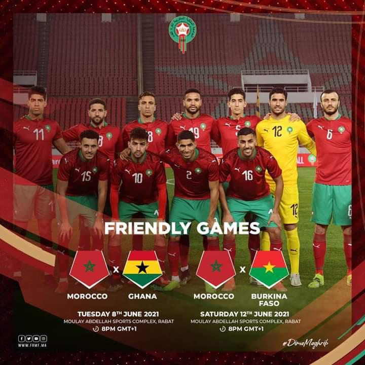 Equipe Nationale : Deux matchs amicaux programmés en Juin