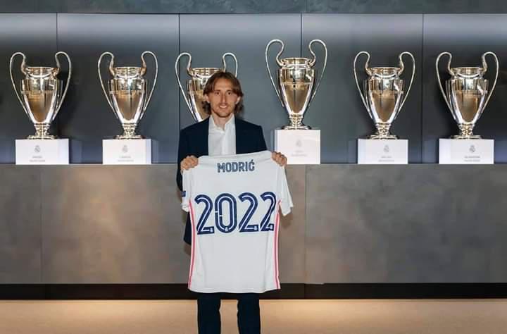 Luka Modrić prolonge au Real Madrid