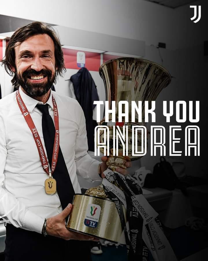Officiel : Andrea Pirlo n'est plus l'entraîneur de la Juve