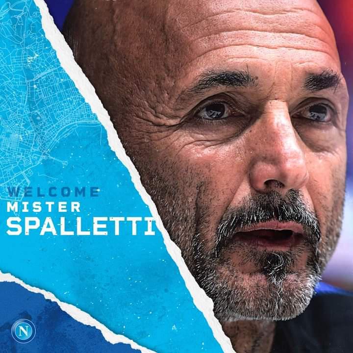 Luciano Spalletti nouvel entraîneur du Napoli