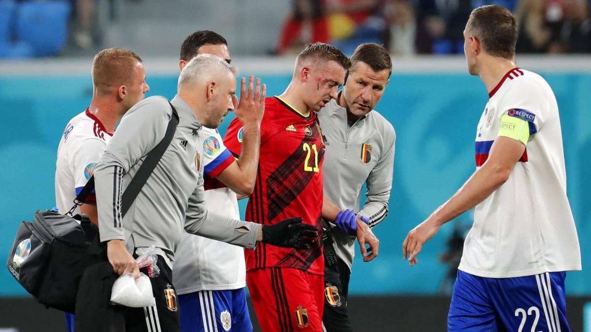 Euro 2020: Timothy Castagne souffre de six fractures au visage