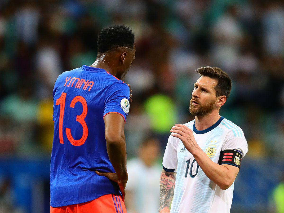 Inédit - Quand Messi trolle Yerry Mina !