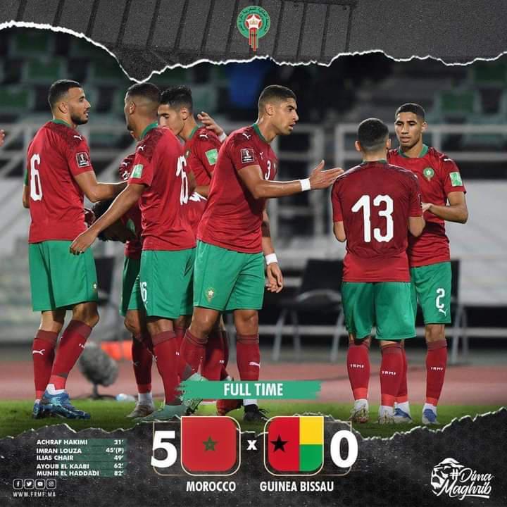 Maroc - Guinée Bissau : Les notes du match