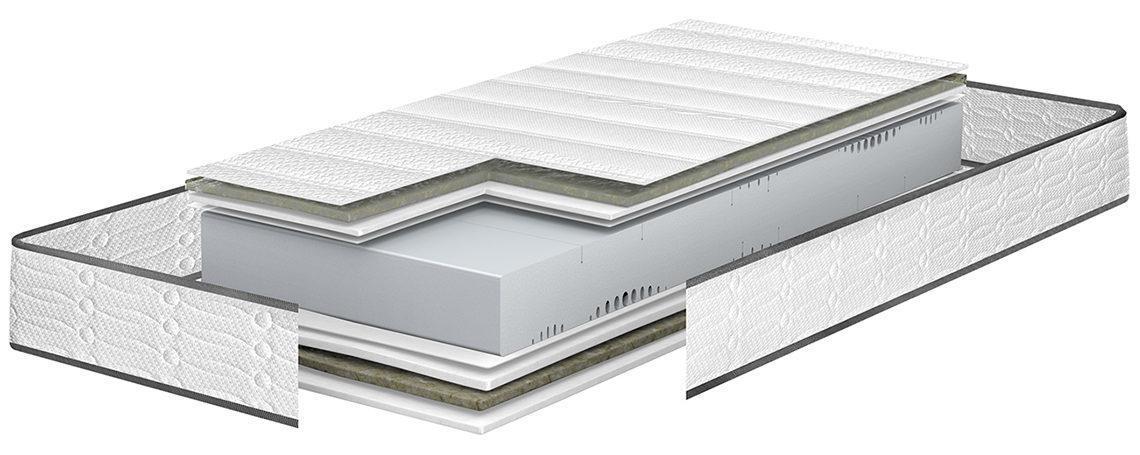 Matelas mousse Bultex Nano 100 x 200 cm à prix ultra-compétitif