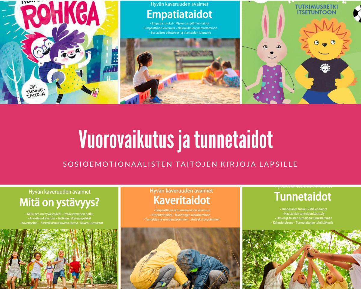 Lastenkirjat ja oppimateriaalit