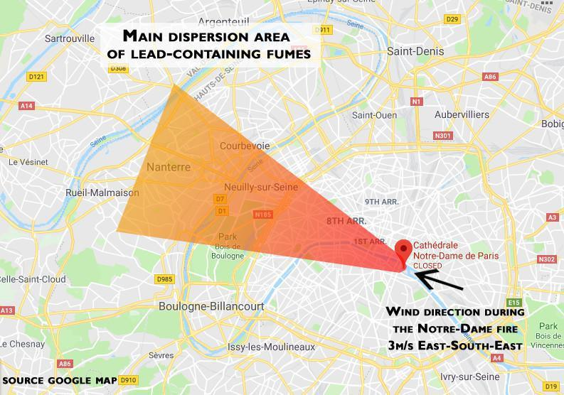 Lead poisoning risk for Parisians?