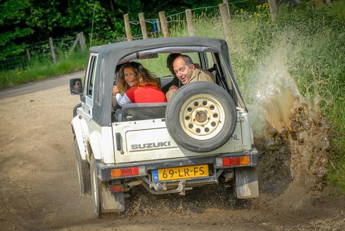 Gesloten | Offroad Jeepsafari door het Heuvelland