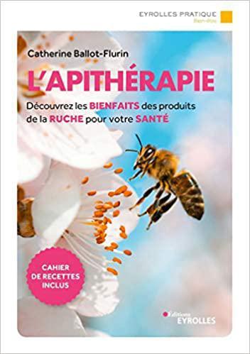 Sélections de livres pour se soigner avec les produits de la ruche