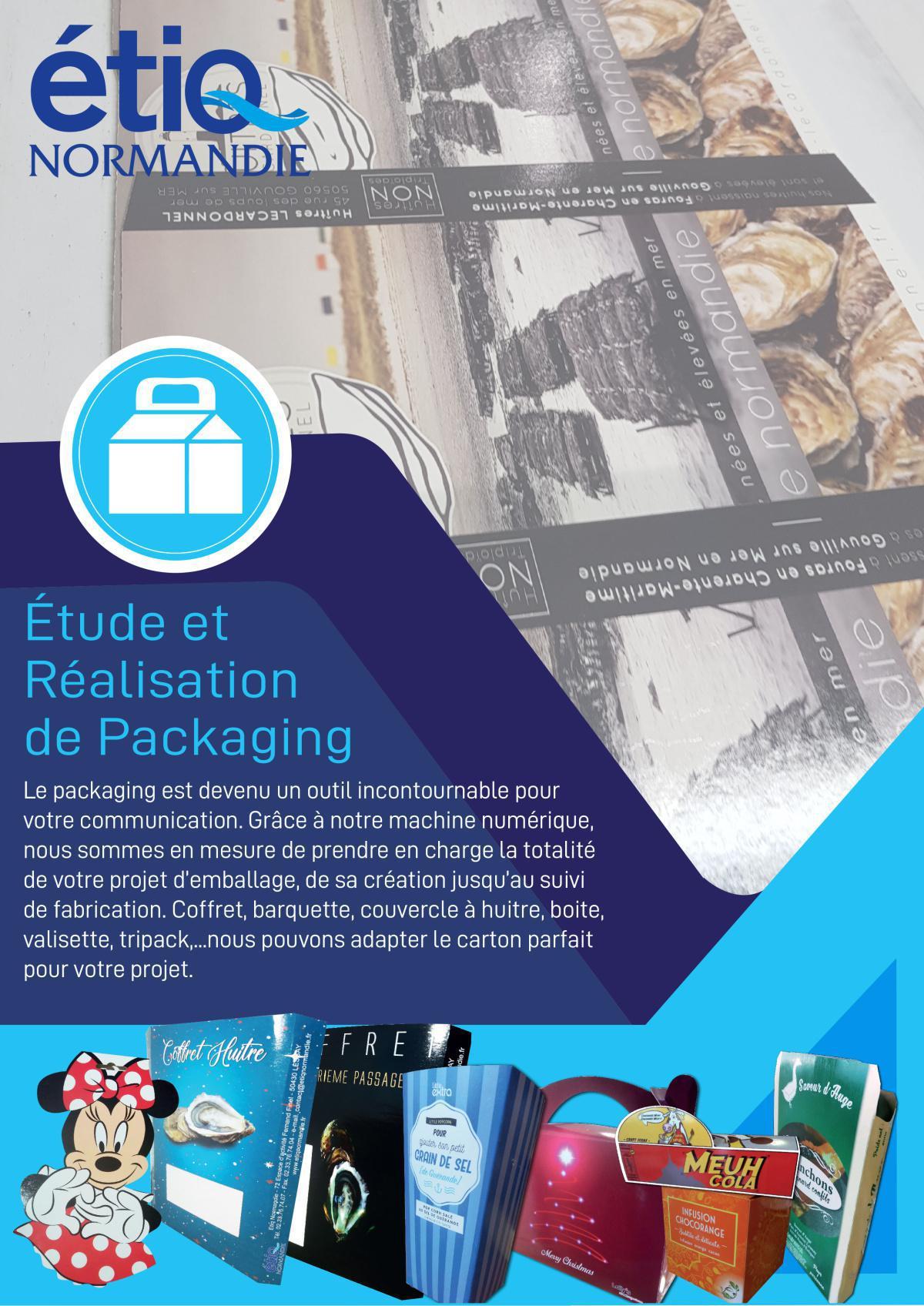 Etiq Normandie - Création d'étiquettes et de packaging personnalisé en Normandie.