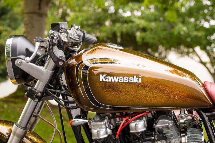 The Kawasaki kz650 Cafe Racer is Retro Yet Practical