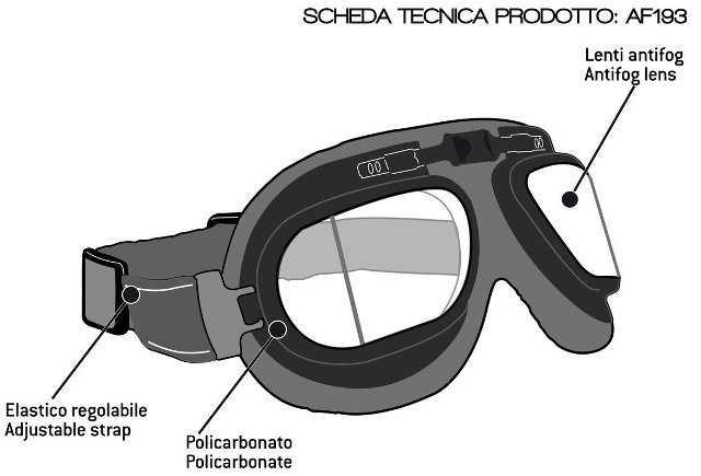 Look Cool, Stay Safe, Wear Cafe Racer Goggles Just Like Steve McQueen
