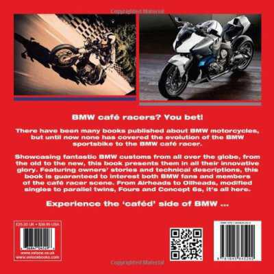 Cafe Racer Books for us by us!