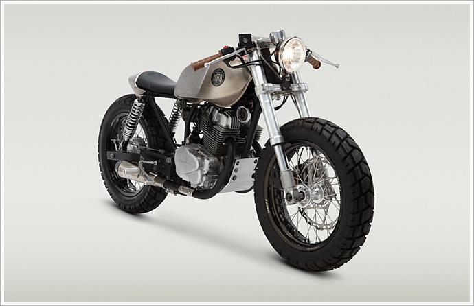 A Small Cafe Racer with Big Style